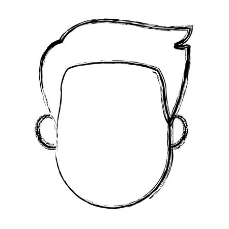 Personnage homme personnage plat conception illustration vectorielle Banque d'images - 80239394