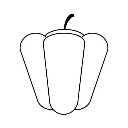 Melone süße Obst-Symbol Vektor-Illustration Grafik-Design Standard-Bild - 80341027