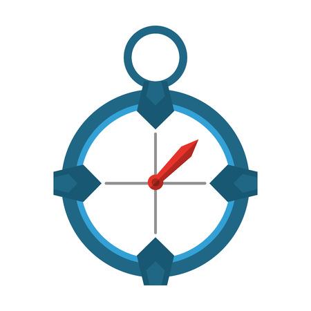 navigation compass icon image vector illustration design Illustration