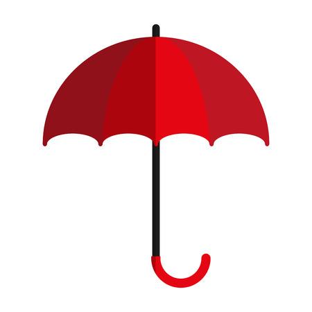 open umbrella icon image vector illustration design
