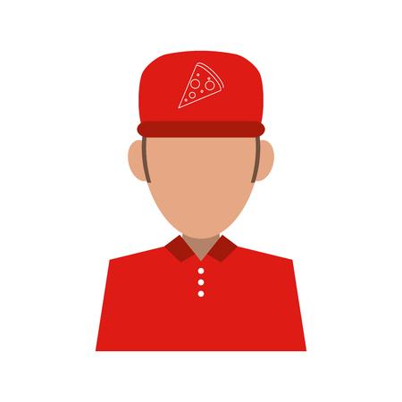Pizza clothes messenger icon