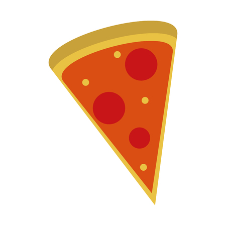 pizza domicile fast food icon vector illustration design graphic Ilustração