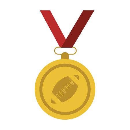 participate: Medal winner sport icon vector illustration design graphic