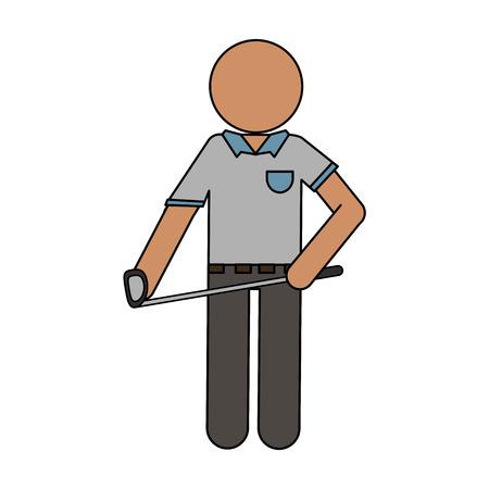 Persona come icona sportiva illustrazione vettoriale illustrazione immagine di design