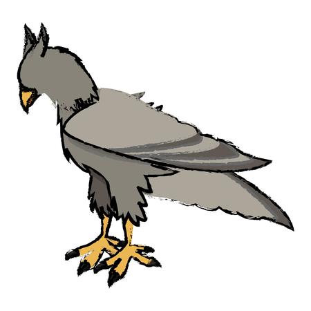speculative: griff creature animal bird mythical image vector illustration Illustration