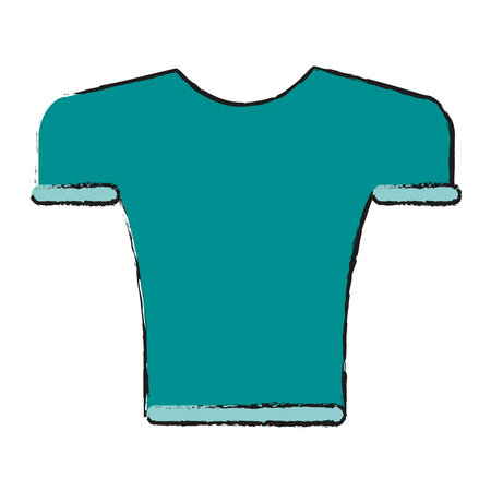 masculine shirt icon image vector illustration design