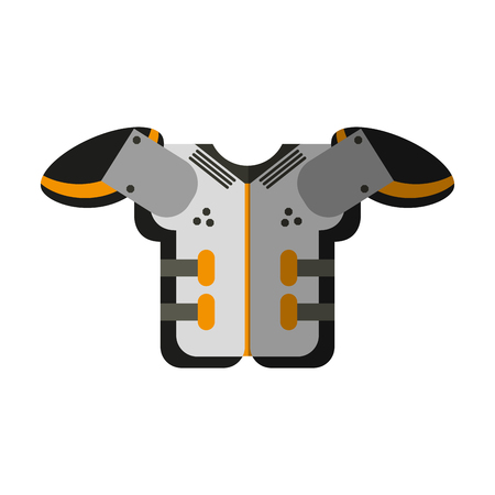 armour american football icon image vector illustration design Illustration