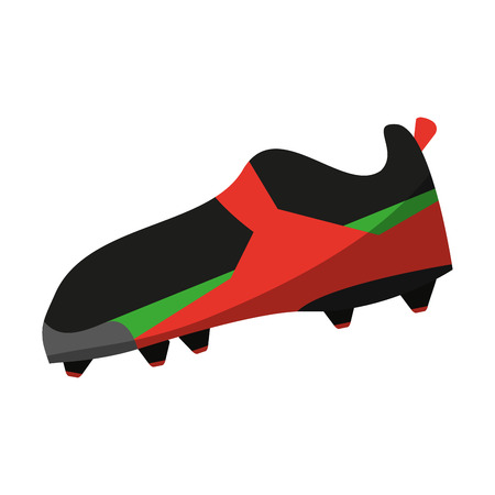 cleats shoes american football icon image vector illustration design
