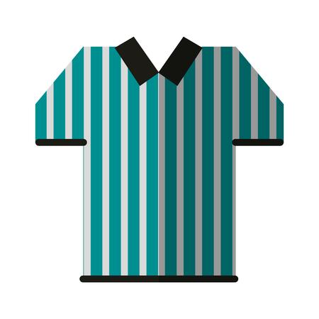 referee shirt american football icon image vector illustration design Vettoriali
