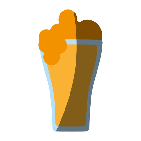 beers: glass of beer icon image vector illustration design Illustration