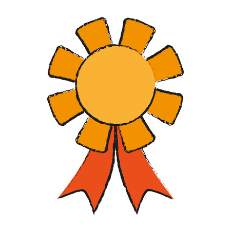 winner badge icon image vector illustration design