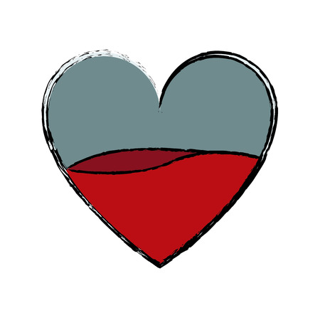 heart blood donation healthy medical concept vector illustration