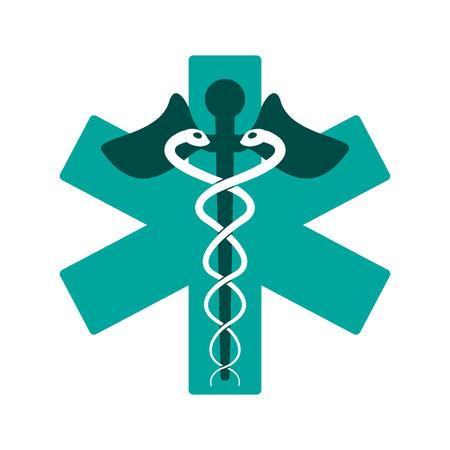 Medical symbol medicine icon vector illustration design graphic