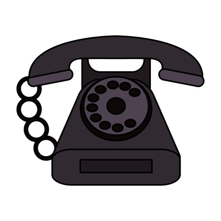 Phones called clinic flat vector illustration design graphic