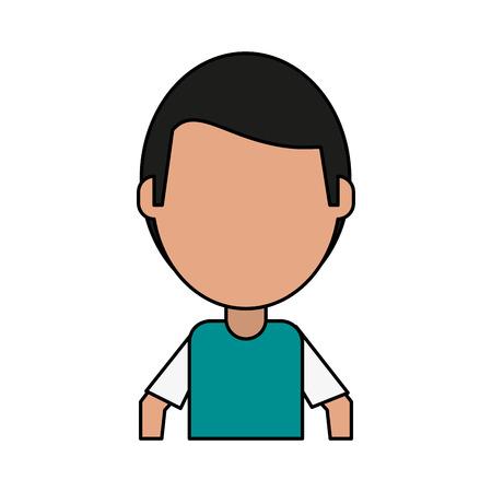 Cured injured patient flat vector illustration design graphic