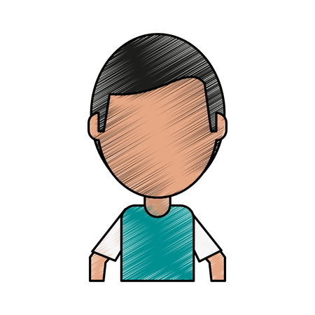 Cured injured patient doodle  vector illustration design graphic Иллюстрация