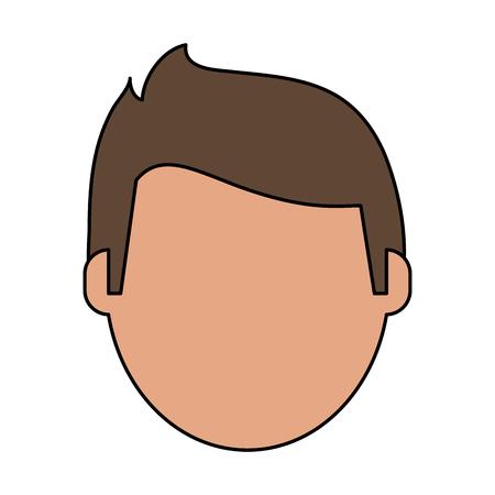 terrible: Injured injured patient face flat vector illustration design graphic Illustration