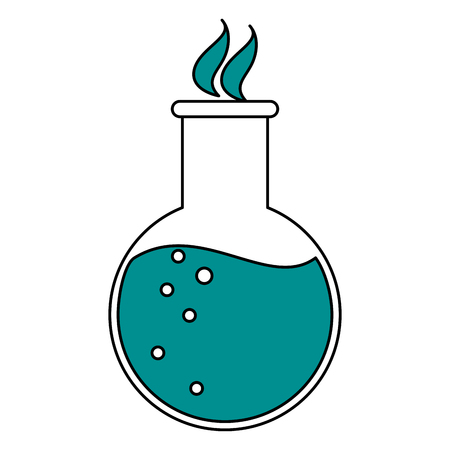 Potion clinical medicine flat vector illustration design graphic