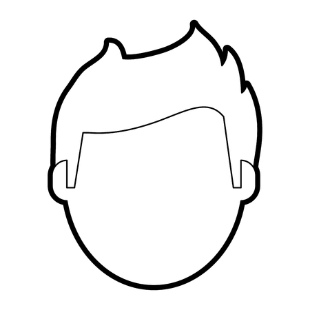 terrible: Injured injured patient face paint vector illustration design graphic