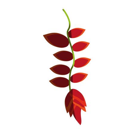 small delicate flowers icon image vector illustration shadow Banco de Imagens - 81137145