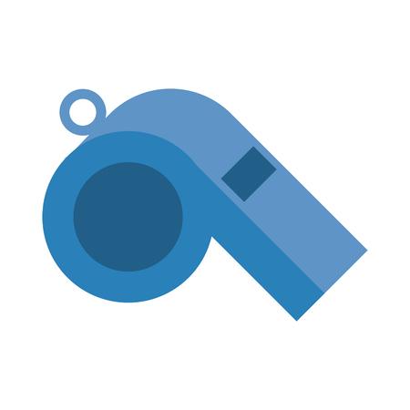 isolated whistle icon image vector illustration design Illustration