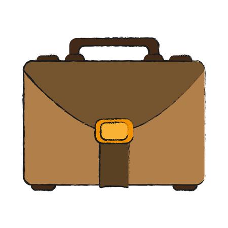 money packs: business briefcase icon image vector illustration design Illustration