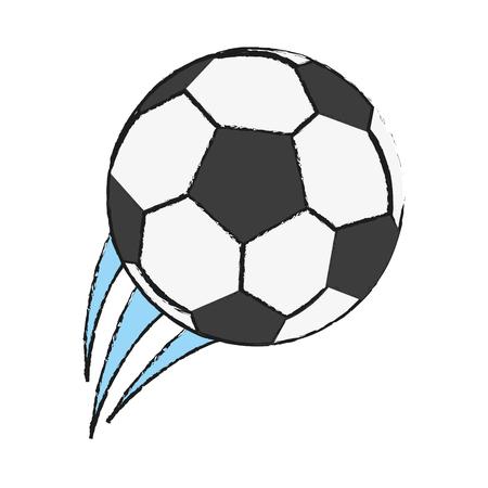 soccer goal: soccer ball icon image vector illustration design Illustration
