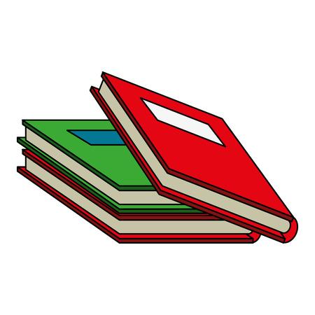 Reading book separator flat  vector illustration design graphic