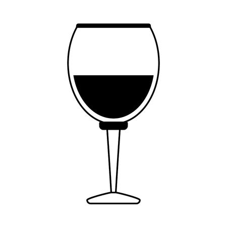 Delicious wine celebration paint vector illustration design graphic Illustration