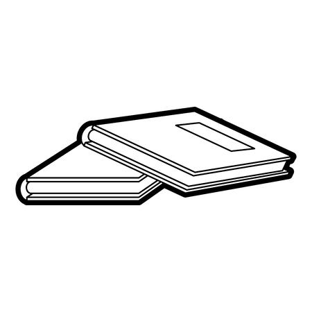 Reading book separator paint vector illustration design graphic Illustration