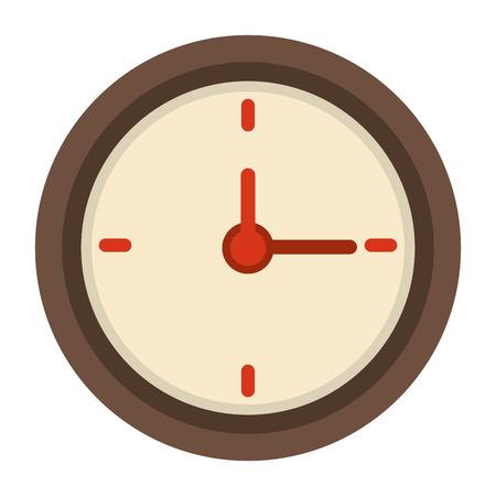 interval: wall clock icon image vector illustration design Illustration
