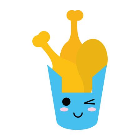 chicken thighs icon image vector illustration design