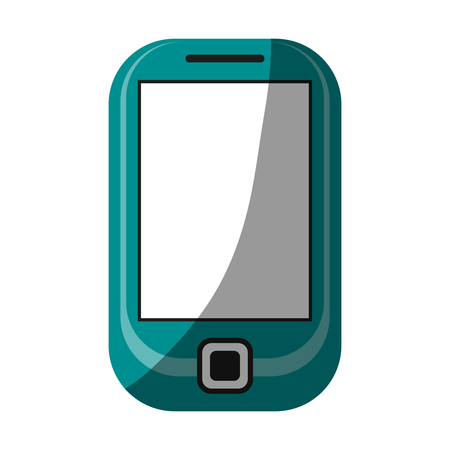 responsive: blank screen cellphone icon image vector illustration design