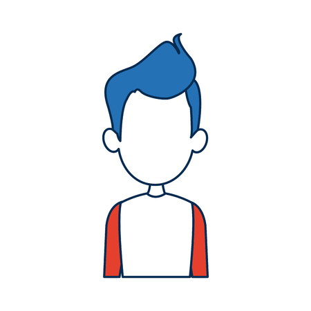 man avatar profile picture male people vector illustration