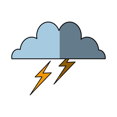 brainstorm creative idea flat design icon vector illustration