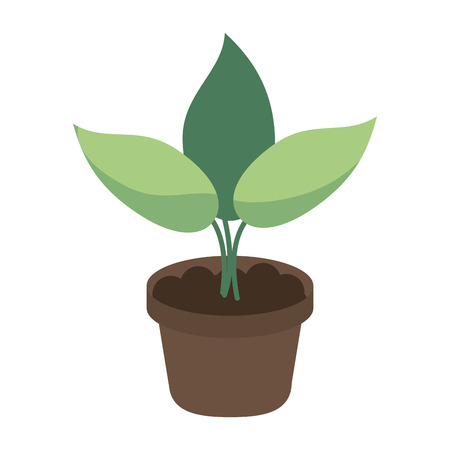 plant sprout icon image vector illustration design 向量圖像