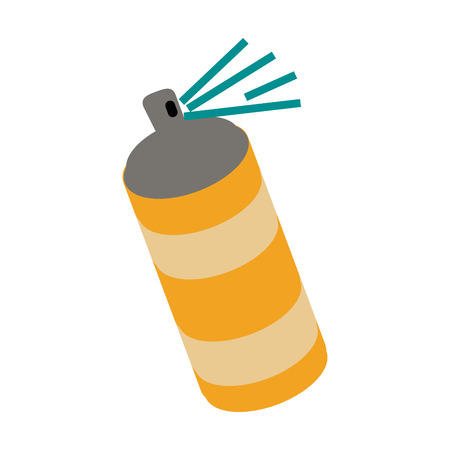 tin packaging: Aerosol can icon image vector illustration design Illustration