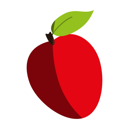 market gardening: apple fruit icon image vector illustration design