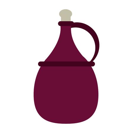 Delicious wine celebration icon vector illustration design graphic Illustration