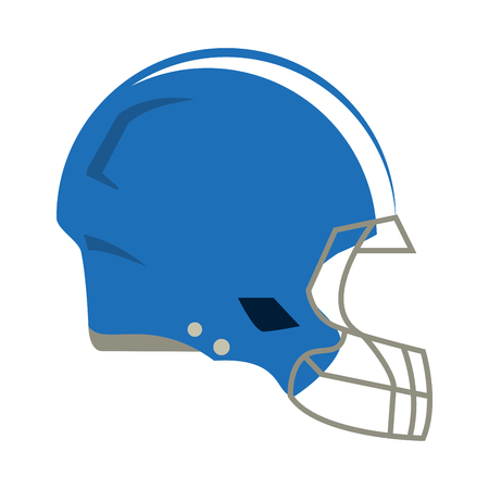helmet american football icon image vector illustration design