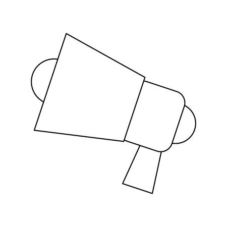 loud: speaker loud advertising marketing digital vector illustration Illustration