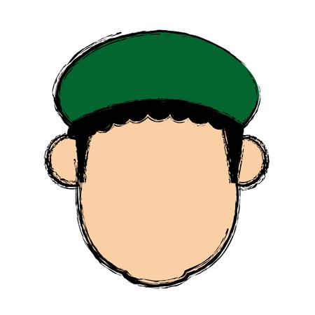 wise man epiphany manger character design vector illustration Illustration