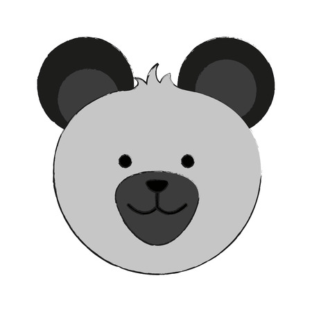 bear or cute stuffed animal icon image vector illustration design  Illustration