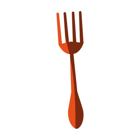 fork cutlery icon image vector illustration design Illustration