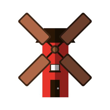 wind mill icon image vector illustration design Illustration