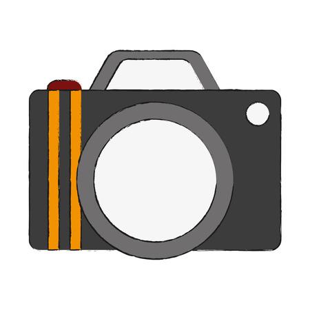 capturing: photographic camera icon image vector illustration design