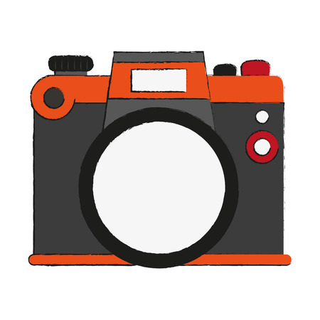 capturing: analog photographic camera icon image vector illustration design Illustration