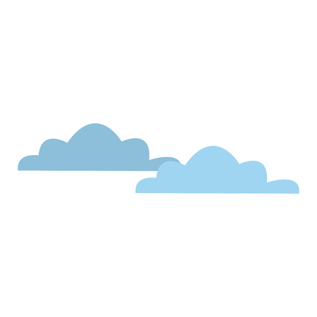 cloud weather climate sky meteorology vector illustration