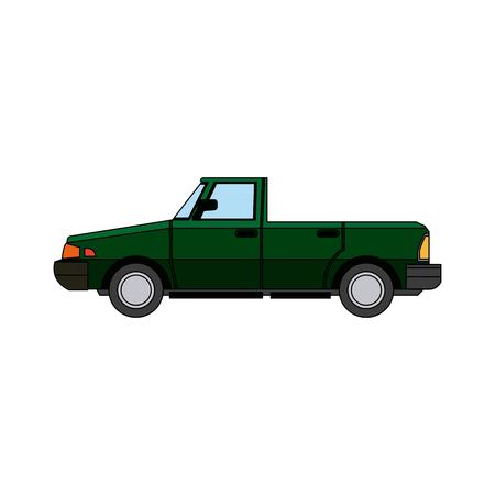 car sport convertible vehicle transport vector illustration
