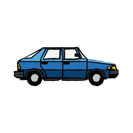 Coupe car automobile transport